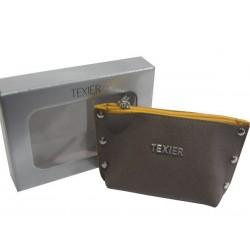 Porte monnaie de marque Texier Studbags en cuir Fabrication Française 26180 TEXIER - 2