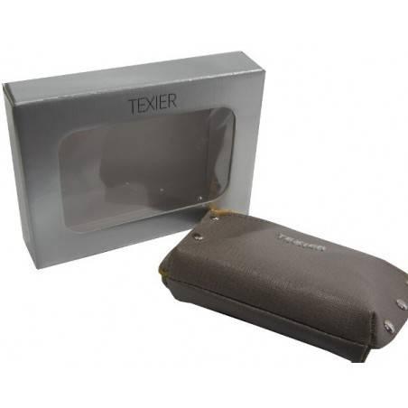 Porte monnaie Texier Studbags cuir Fabrication France 26180 TEXIER - 4