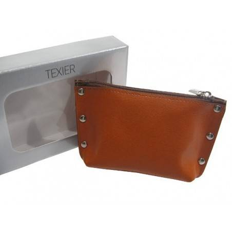 Porte monnaie Texier Studbags cuir Fabrication France 26180 TEXIER - 9