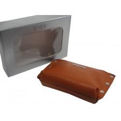 Porte monnaie Texier Studbags cuir Fabrication France 26180 TEXIER - 10