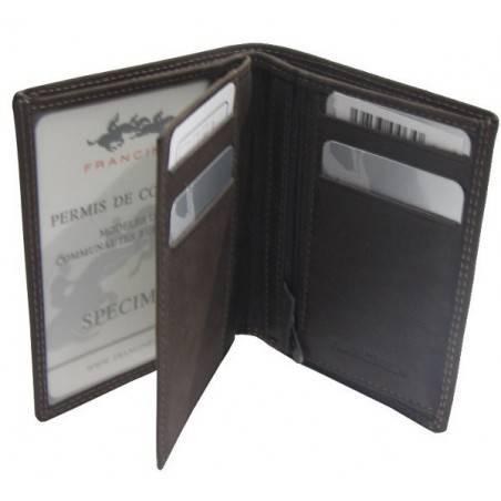 Petit portefeuille cuir pas cher et tendance au toucher agréable A DÉCOUVRIR ! - 2