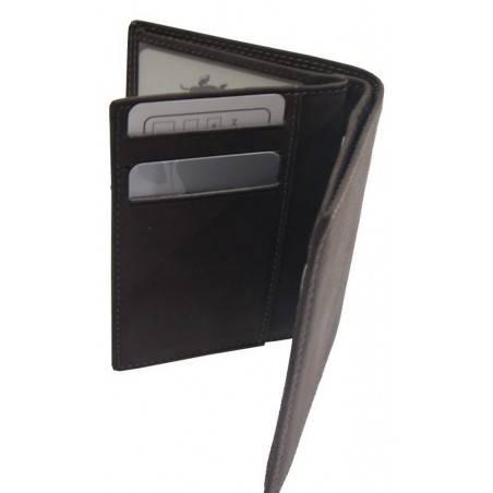 Petit portefeuille cuir pas cher et tendance au toucher agréable A DÉCOUVRIR ! - 3