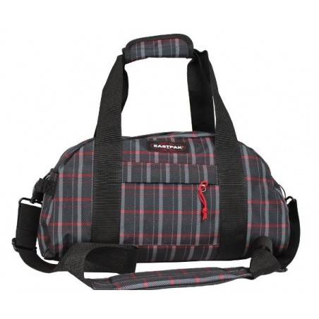 Sac polochon Compact Eastpak EK10205H motif noir rouge EASTPAK - 1