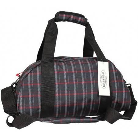 Sac polochon Compact Eastpak EK10205H motif noir rouge EASTPAK - 2