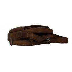 Pochette marron cuir Patrick Blanc 422005 PATRICK BLANC - 3