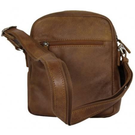 Pochette marron cuir Patrick Blanc 422006 PATRICK BLANC - 2