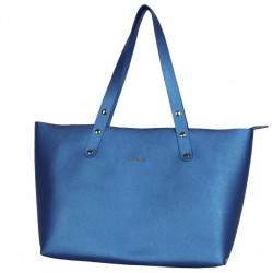 Sac cabas Texier fabrication France Studbags 26109 bleu TEXIER - 1