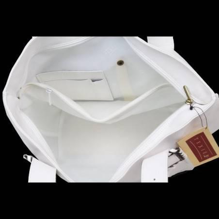 Sac porté épaule en cuir de fabrication Française Texier 063344 TEXIER - 5
