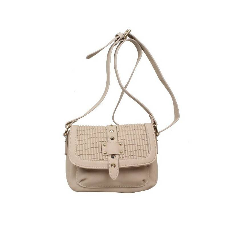 Petit sac porté bandoulière Fuchsia F9420-7 FUCHSIA - 1