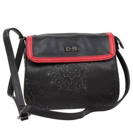 Sac épaule tissu imprimé SMASH LTR-LISA BAG SMASH - 2