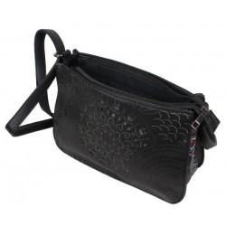 Sac bandoulière Smash Cupola Bag motif ajouré noir SMASH - 5