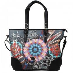 Sac cabas motif imprimé SMASH Bettina Bag SMASH - 1