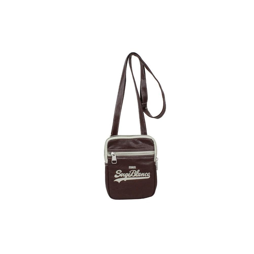 Petite pochette bandoulière Serge Blanco EIG13007 SERGE BLANCO - 1