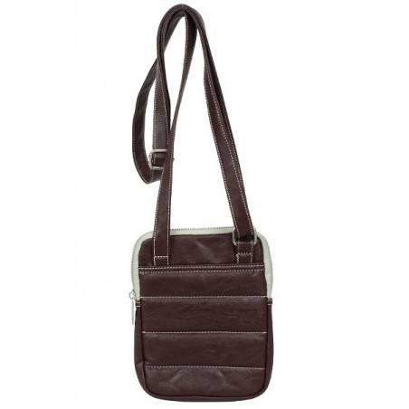 Pochette forme poire à porter devant noir ou gris de marque Serge blanco ost11006 SERGE BLANCO - 2