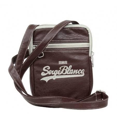 Pochette forme poire à porter devant noir ou gris de marque Serge blanco ost11006 SERGE BLANCO - 5