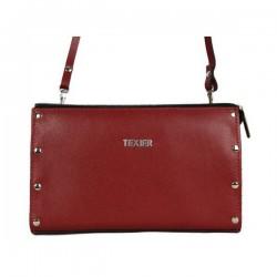 Petite pochette sac cuir Texier fabrication Française Studbags 26183 TEXIER - 1