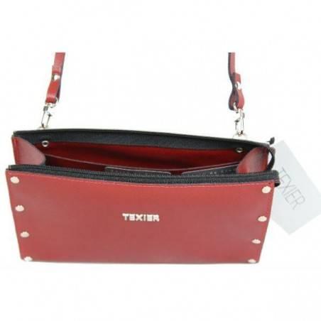 Petite pochette sac cuir Texier fabrication Française Studbags 26183 TEXIER - 3