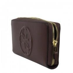 Grand porte monnaie et porte cartes Guess lisse SWAMY1-L5246 GUESS - 3