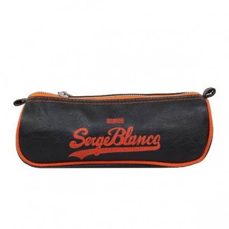 Trousse Serge Blanco simili cuir EIG42012 trousse simple un compartiment SERGE BLANCO - 1