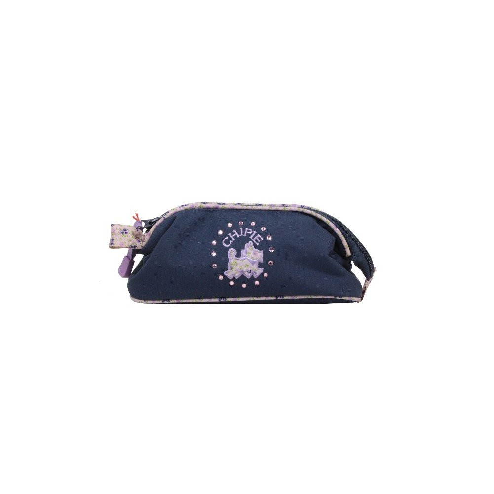 Trousse Chipie VICTIRIAN demi-ronde strass 1 compartiment CHIPIE - 1