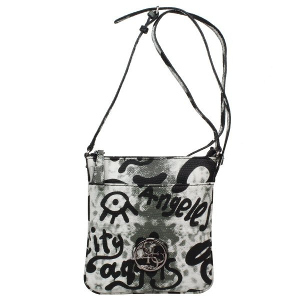 Petit Sac Bandouliere Femme Guess : Petit sac bandouli?re guess imprim? overnight mini