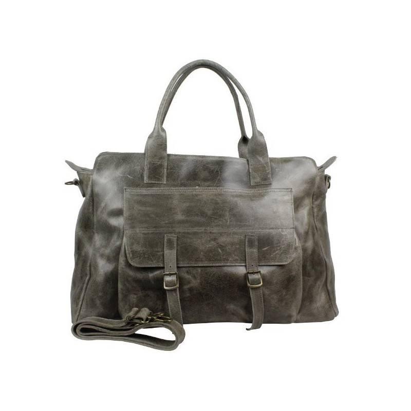 Grand sac de voyage cuir vieillie vintage Bruno Rossi S7/G Bruno Rossi - 1