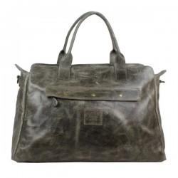Grand sac de voyage cuir vieillie vintage Bruno Rossi S7/G Bruno Rossi - 3