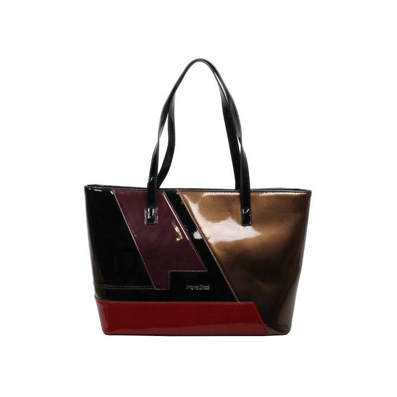 Sac cabas shopping Jacques Esterel multicolore verni JE SV402 Jacques ESTEREL - 1