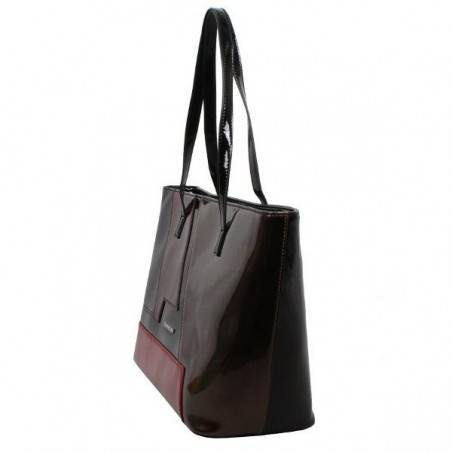 Sac cabas shopping Jacques Esterel multicolore verni JE SV402 Jacques ESTEREL - 4