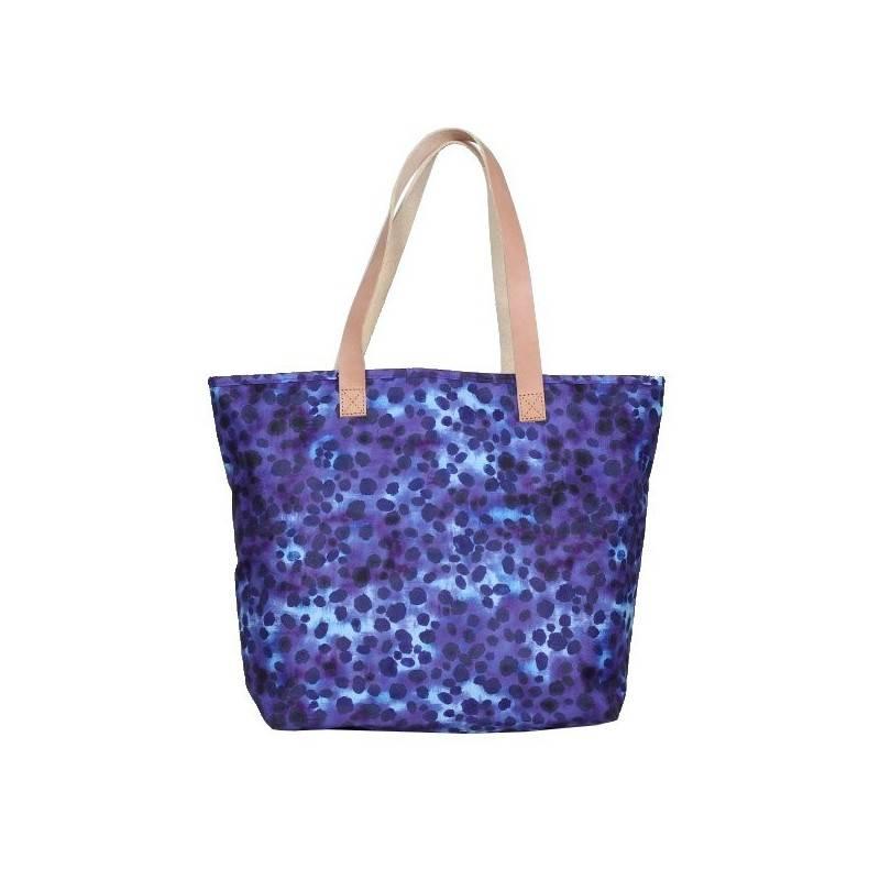 Sac shopping Eastpak Ek858 Flask 89I motif bleu / violet EASTPAK - 1