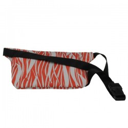 Pochette ceinture ultra plate rouge et grise Eastpak EK773 Talky 68J Red Flames EASTPAK - 2