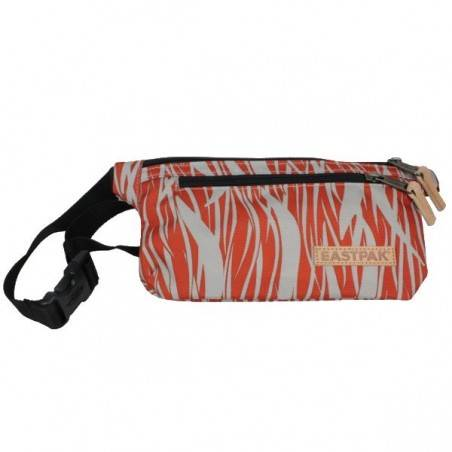 Pochette ceinture ultra plate rouge et grise Eastpak EK773 Talky 68J Red Flames EASTPAK - 1
