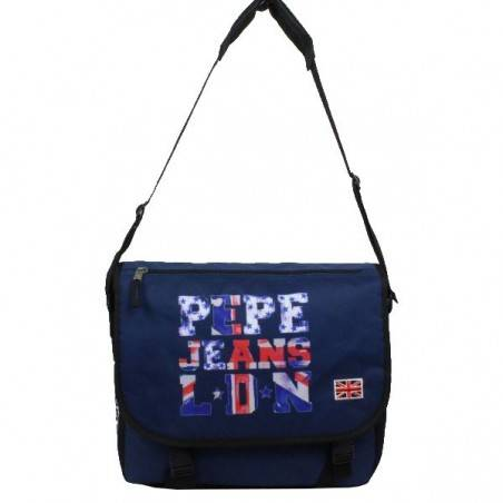 Gibecière drapeau Anglais bleu marine Pepe Jeans 6065051 Pepe Jeans - 2