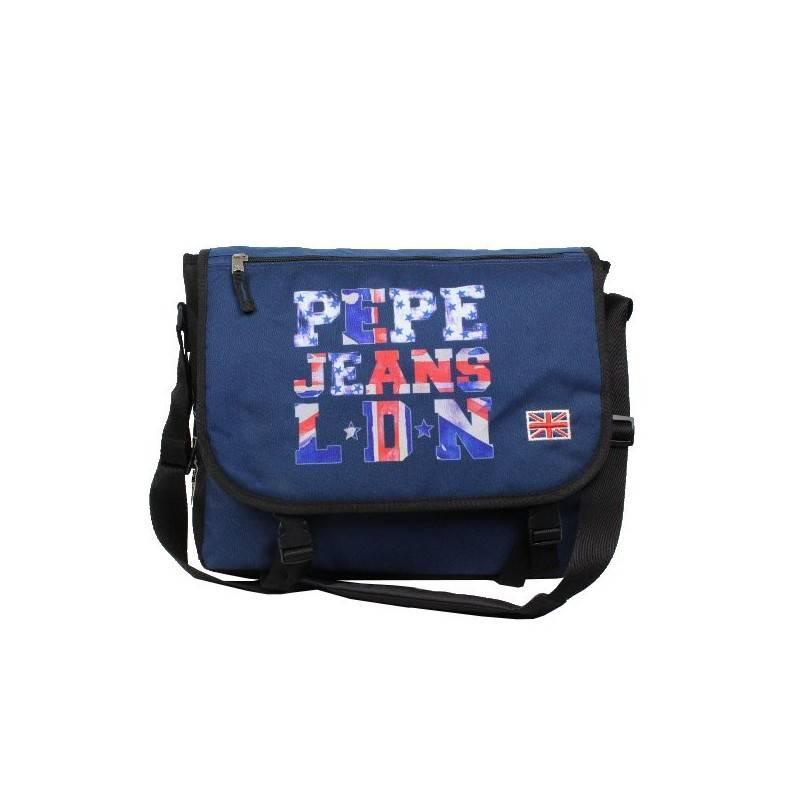 Gibecière drapeau Anglais bleu marine Pepe Jeans 6065051 Pepe Jeans - 1