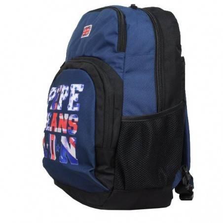 Sac à dos drapeau Anglais bleu Pepe Jeans 6062651 Pepe Jeans - 2