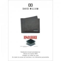 Portefeuille Européen en cuir David William D5347 DAVID WILLIAM - 2