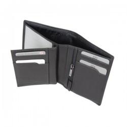 Petit portefeuille monnaie billets cartes en cuir David William D5344 DAVID WILLIAM - 5