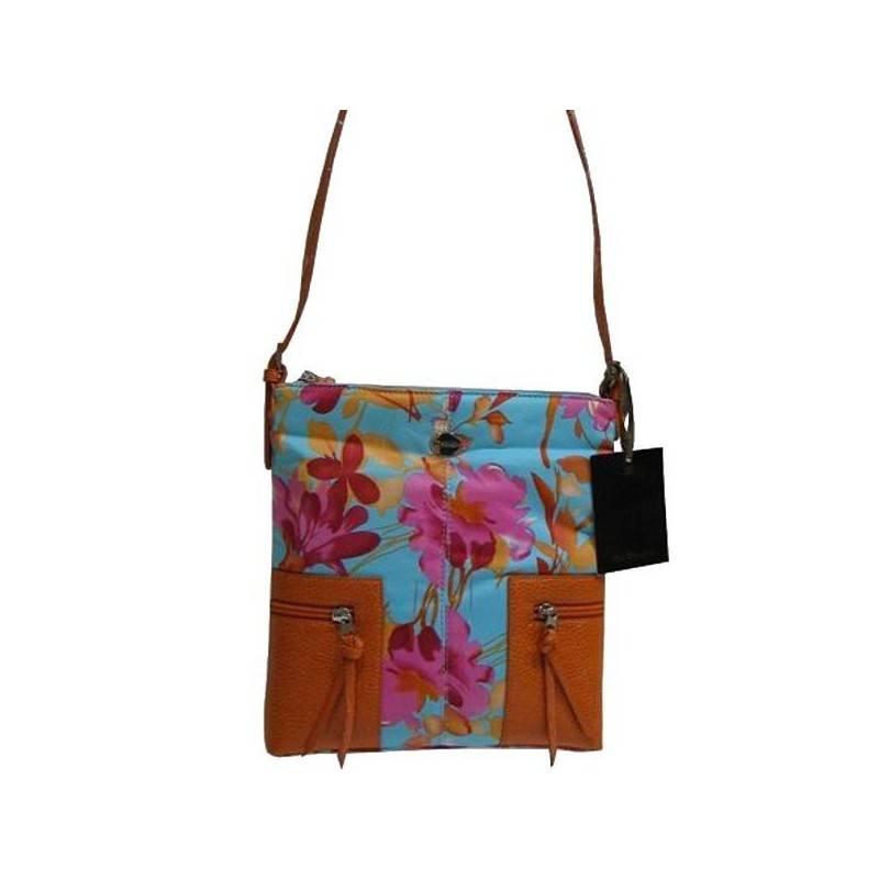 Sac bandoulière multicolore motif fleur Mac Douglas MAC DOUGLAS - 1