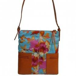 Sac bandoulière multicolore motif fleur Mac Douglas MAC DOUGLAS - 3