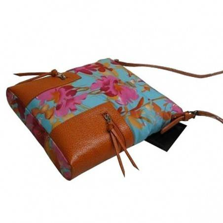 Sac bandoulière multicolore motif fleur Mac Douglas MAC DOUGLAS - 4