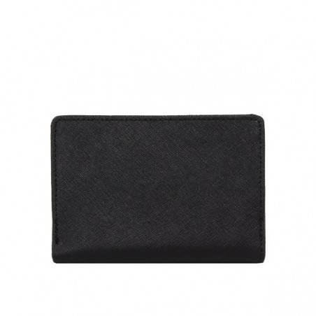 Porte monnaie Marina femme cuir saffiano bicolore Fuchsia F9572-1 FUCHSIA - 5