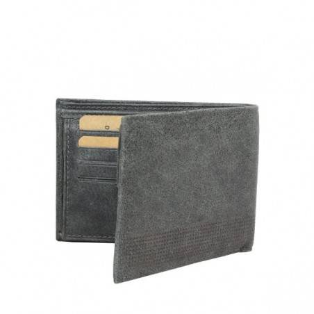Petit portefeuille Europe cuir vieilli Safari SFL814 SAFARI - 4