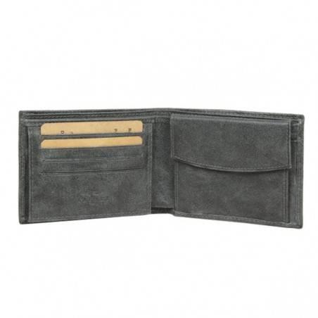 Petit portefeuille Europe cuir vieilli Safari SFL814 SAFARI - 2
