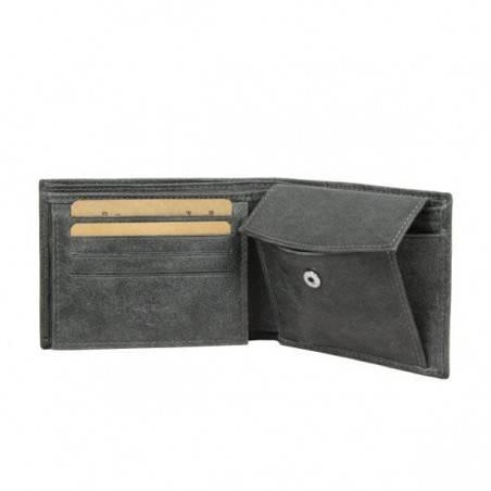 Petit portefeuille Europe cuir vieilli Safari SFL814 SAFARI - 3