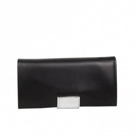 Porte monnaie et cartes femme fabrication Française cuir 365.76 Nouvelty  FRANDI - 5