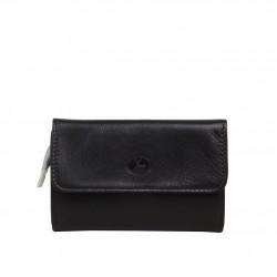 Porte monnaie et cartes femme fabrication en cuir et Française 364.72 Nouvelty  FRANDI - 2
