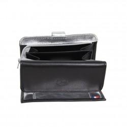 Porte monnaie et cartes femme fabrication en cuir et Française 364.72 Nouvelty  FRANDI - 4