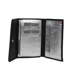 Porte monnaie et cartes femme fabrication en cuir et Française 364.72 Nouvelty  FRANDI - 5