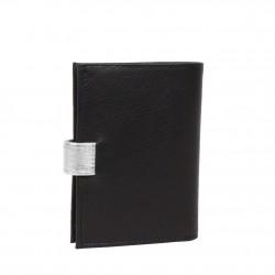 Porte monnaie et cartes femme fabrication en cuir et Française 364.58 Nouvelty  FRANDI - 5