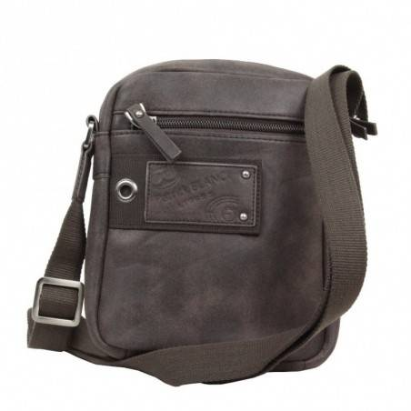 Pochette noir cuir Patrick Blanc 403023 PATRICK BLANC - 2